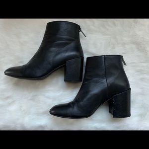 Stuart Weitzman Instep Leather Booties